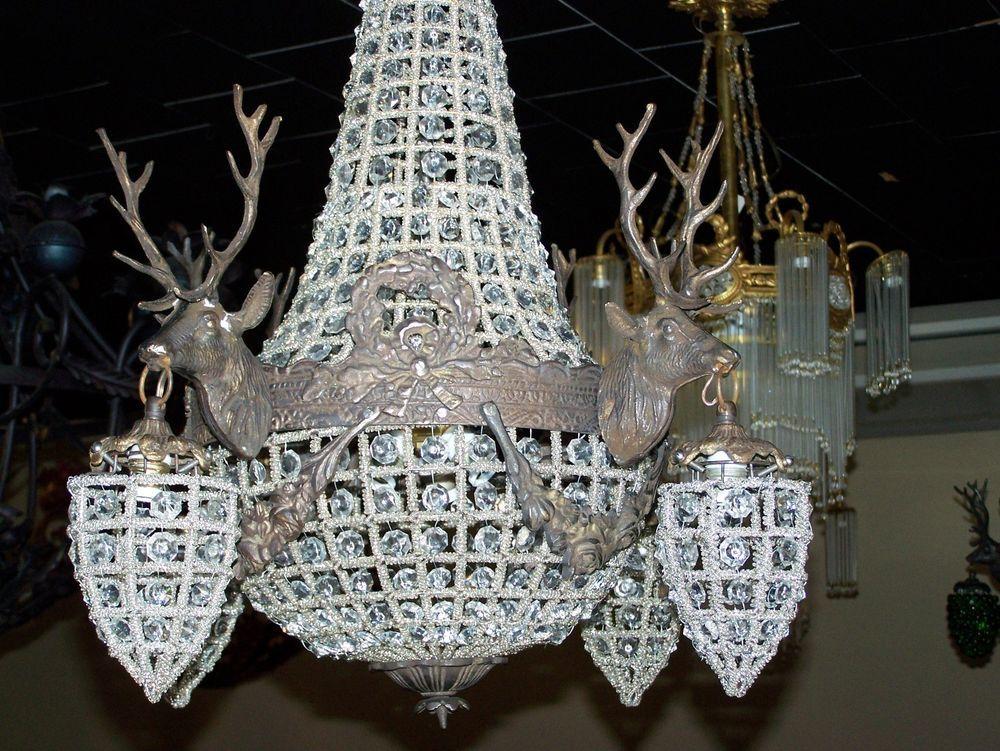 Deer chandelierstag chandelier empire style chandeliermule antler deer chandelierstag chandelier empire style chandeliermule antler chandelier empirestyle aloadofball Gallery