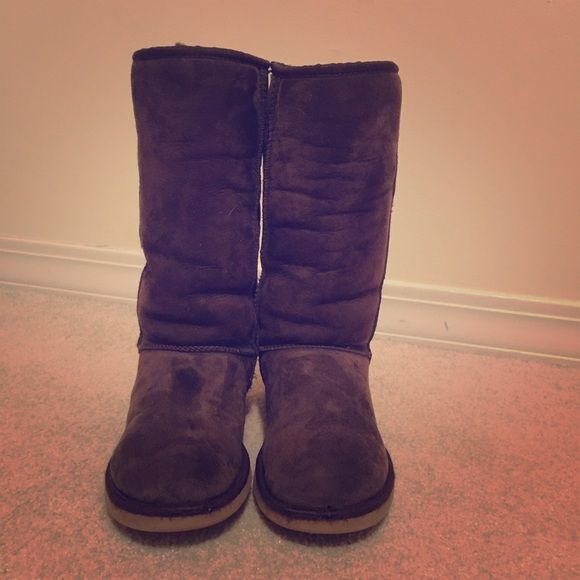 UGG Shoes | Classic Chocolate Tall Boot | Poshmark
