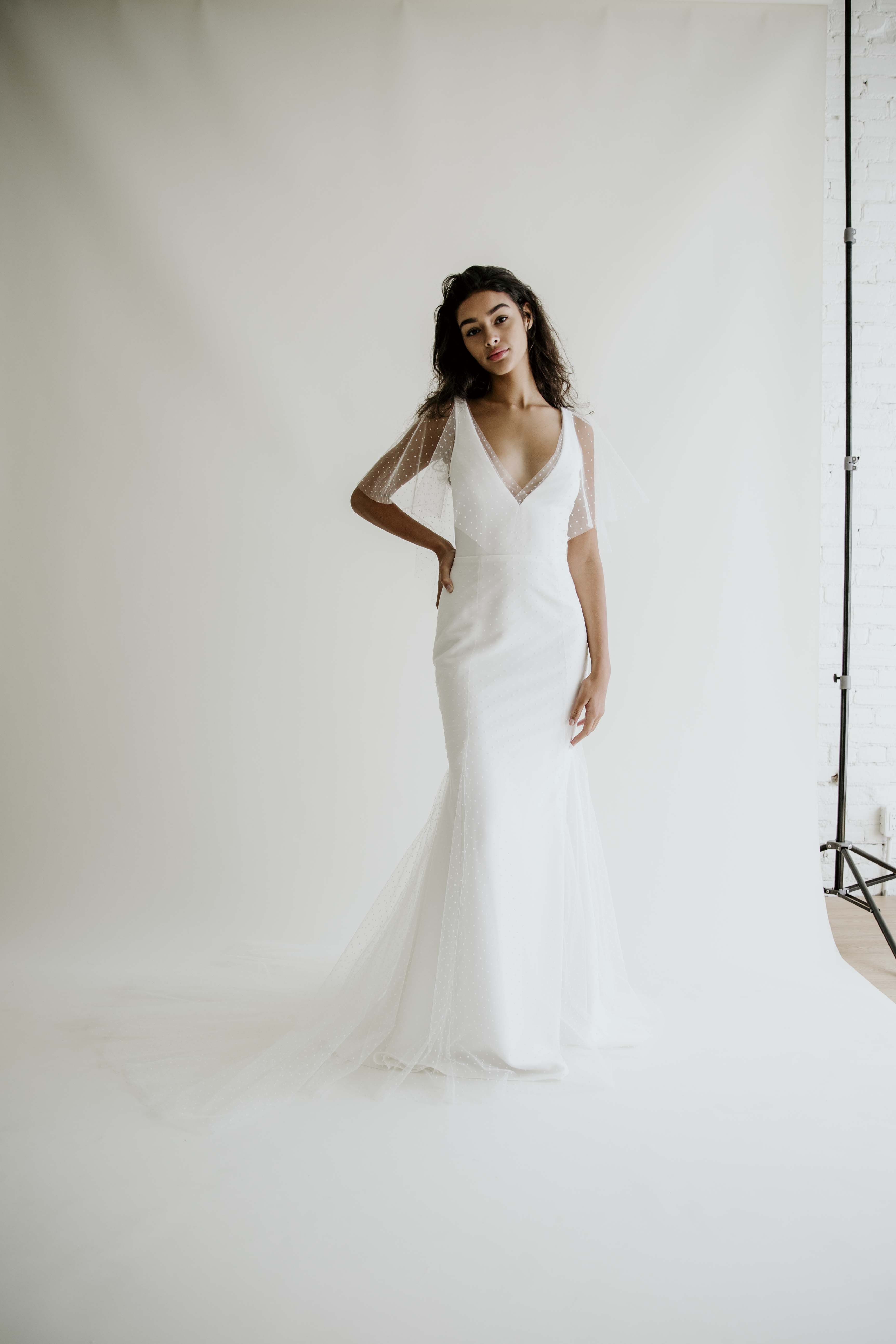 Modern Fitted Wedding Dresses