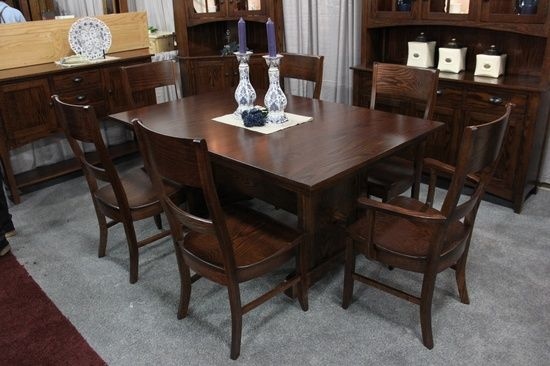 USA Made Solid Wood Dining Table
