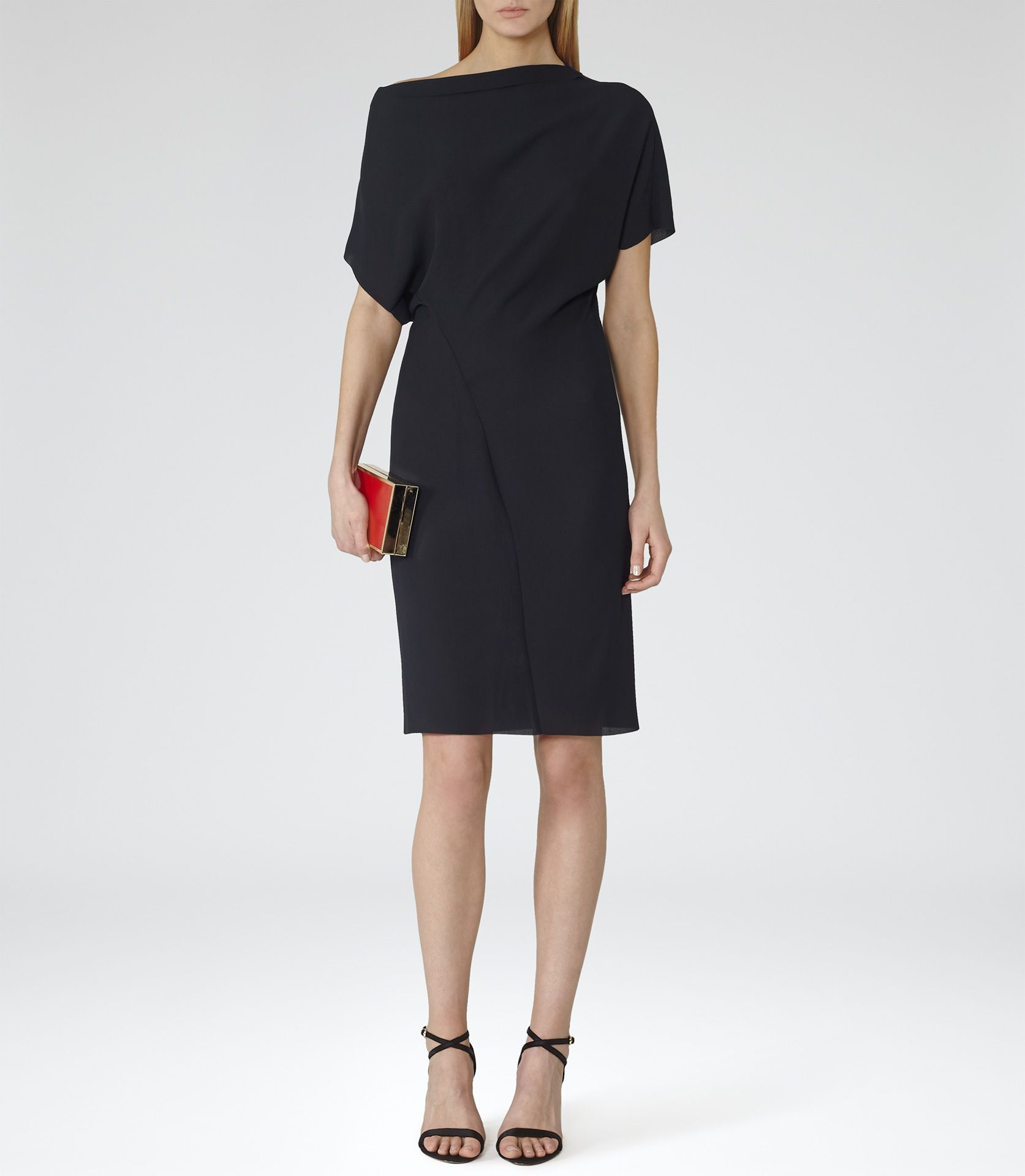 Asymmetrical Shoulder Dress