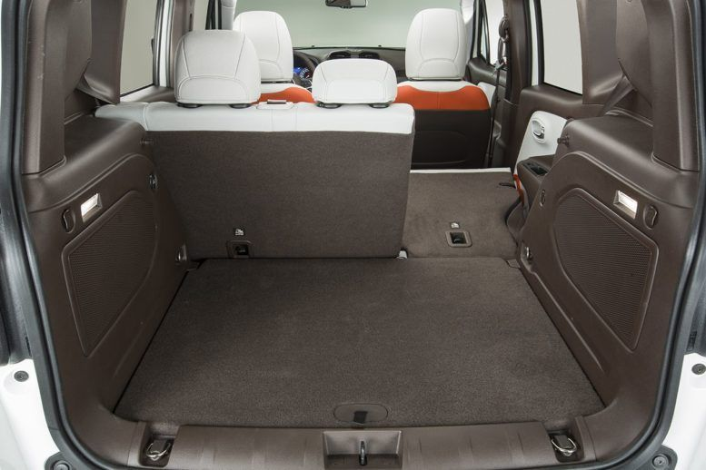 351 Liters Of Basic Luggage Compartment In 2016 Jeep Renegade Limited Jeep Renegade 2016 Jeep Jeep