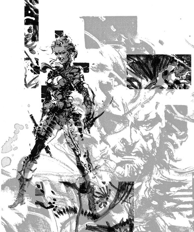 The Boss Promo Pictures Characters Art Metal Gear