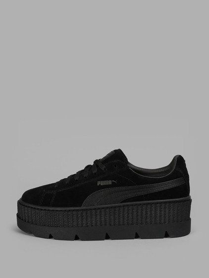 new arrival feb7f abebd FENTY X PUMA Fenty X Puma Men'S Black Suede Cleated Creeper ...