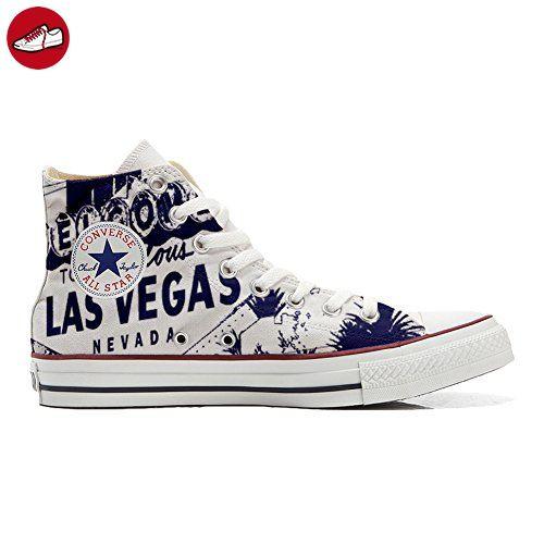083b4b0d460a Converse All Star personalisierte Schuhe (Handwerk Produkt) Las Vegas size  46 EU - Sneakers