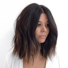 Layered Long Bob Haircut