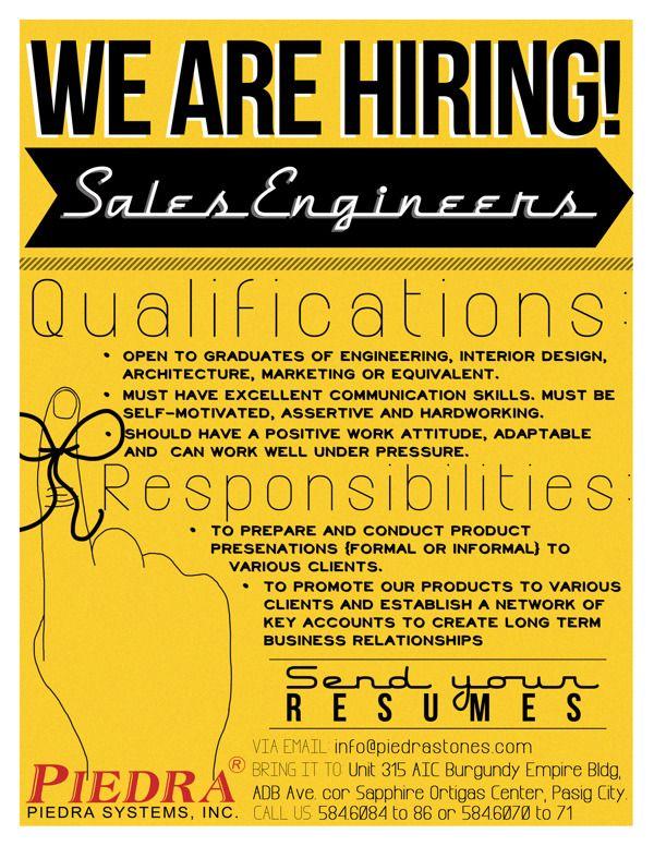 Job Vacancy Announcement By Tanya Syyap Via Behance BEC