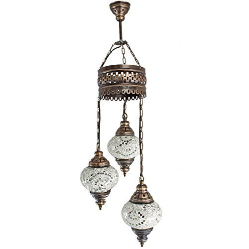 Chandelier, Ceiling Lights, Turkish Lamps, Hanging Mosaic ...