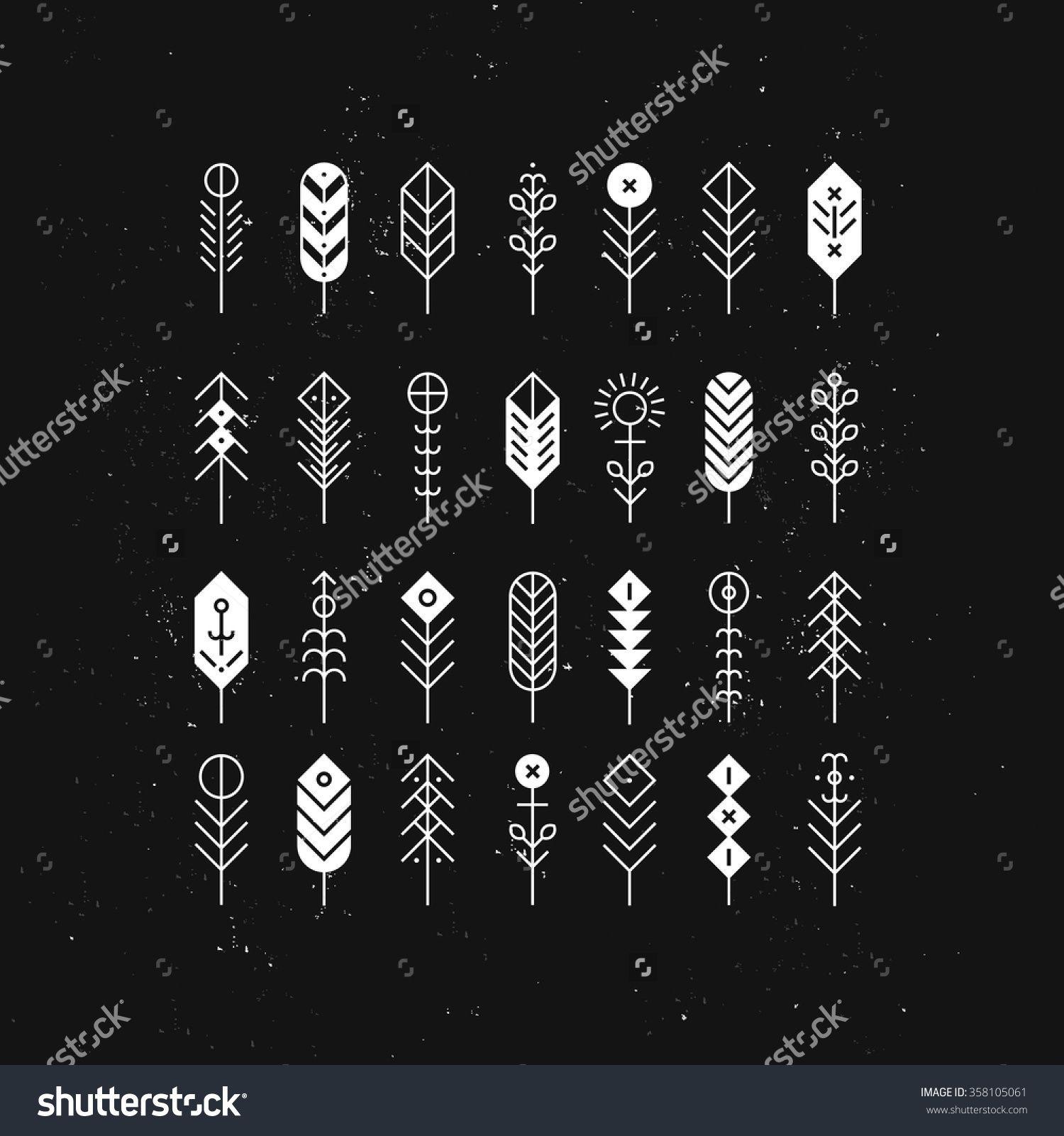 geometric arrow tattoo Tìm với Google Geometric arrow