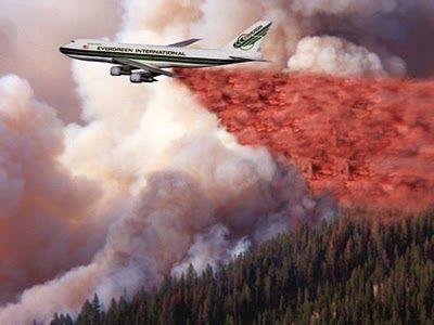 Evergreen International 747 Supertanker, under development for aerial firefighting