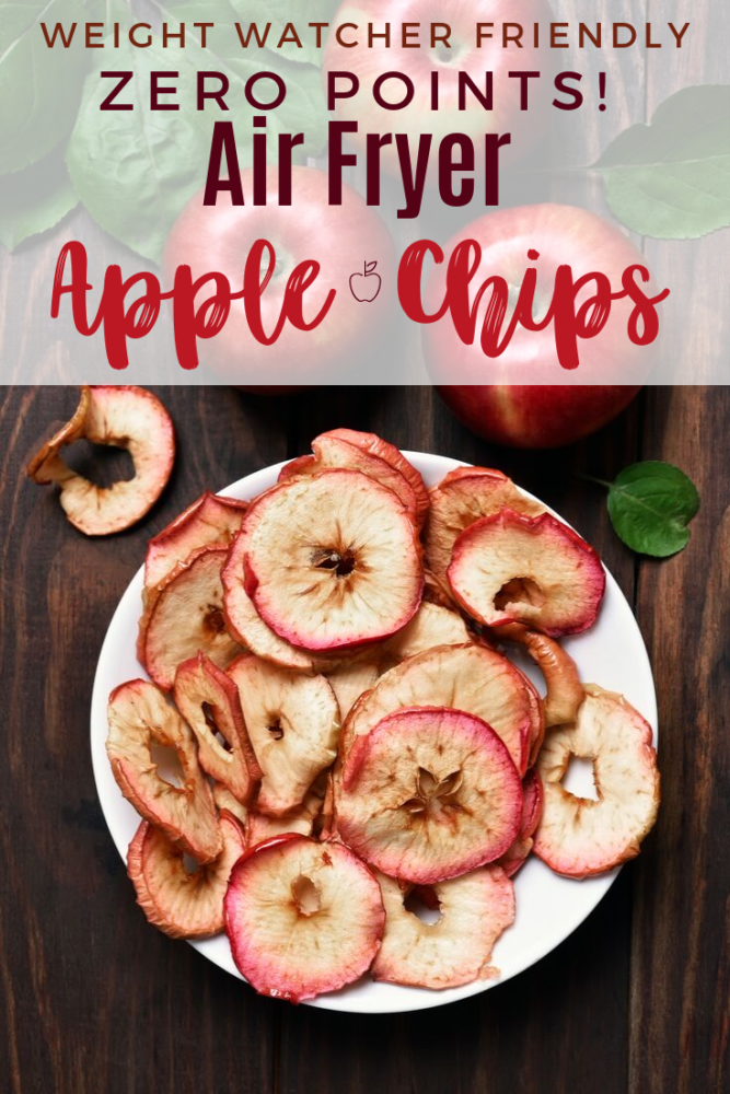 Air Fryer Apple Chips Recipe Apple chips, Healthy