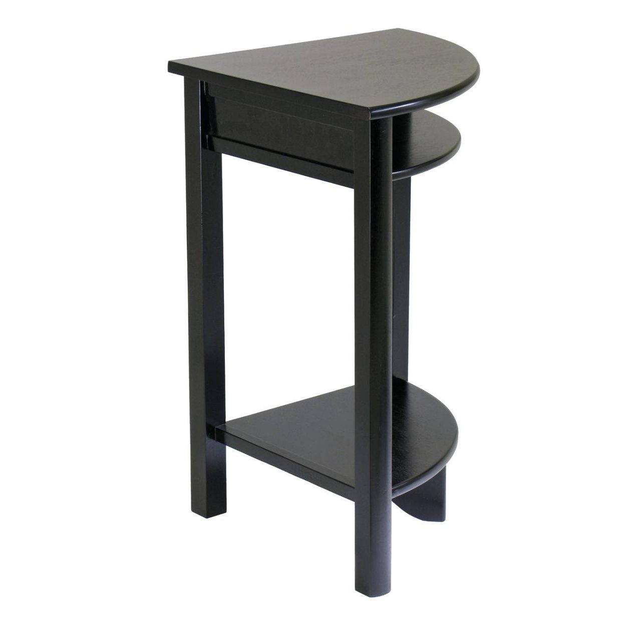 Small Corner Accent Table Luxury Home Office Furniture Check