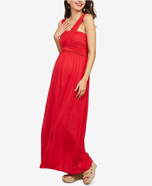 Photo of Motherhood Maternity Halter Maxi Dress & Reviews – Maternity – Wo