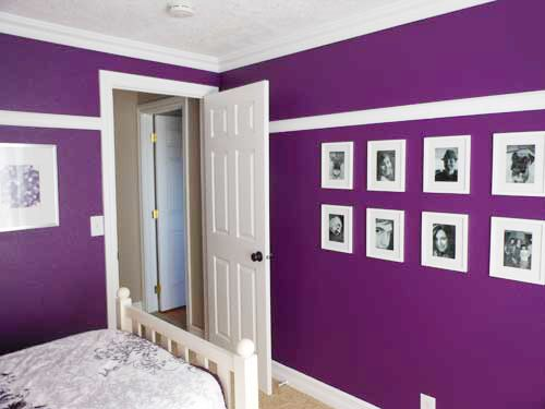 extraordinary bedroom ideas purple walls | Paint colors that match this Apartment Therapy photo: SW ...