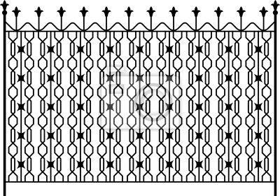 Puerta de hierro forjado, puerta, valla, ventana, parrilla, diseño en las fotos ...