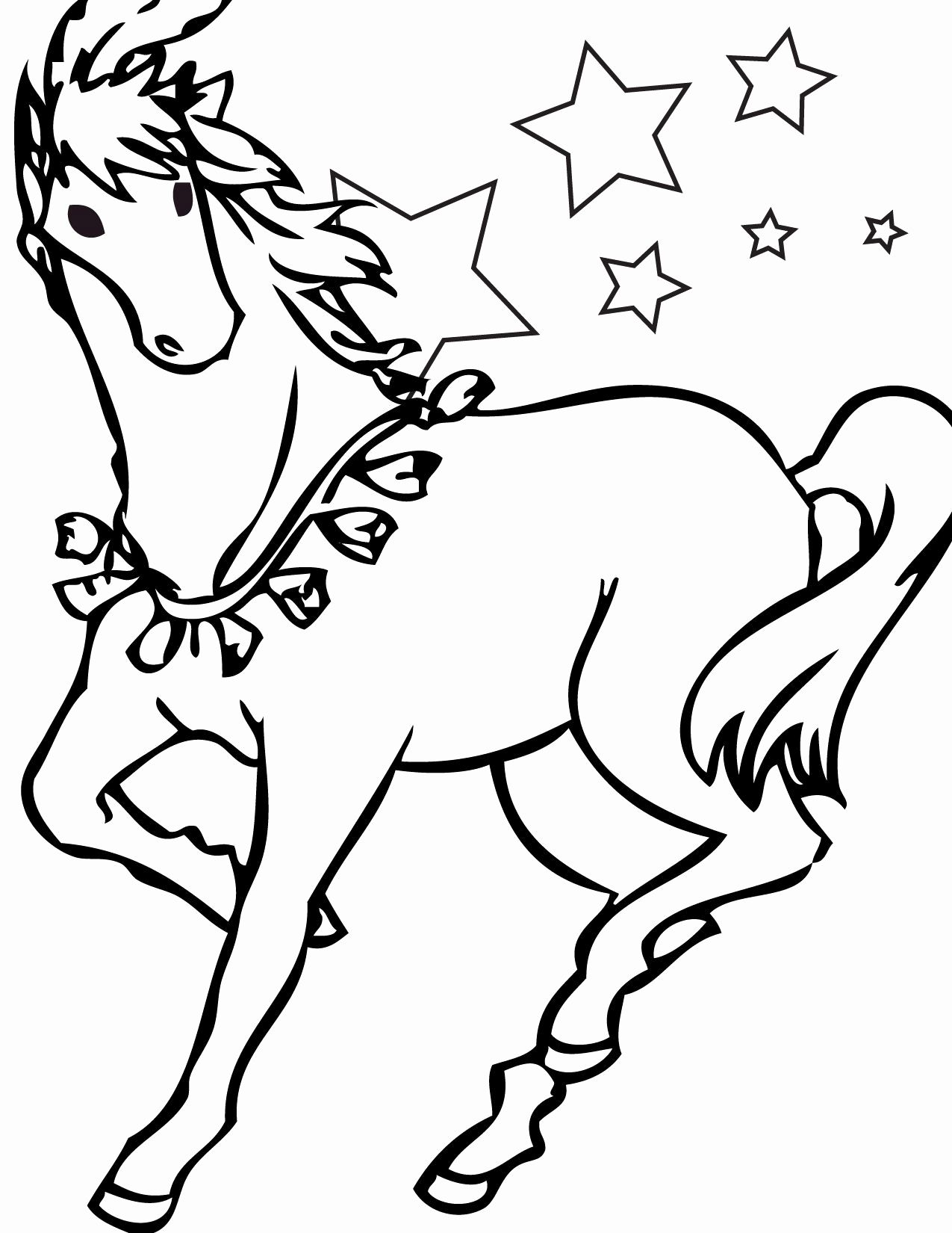 Rocking Horse Coloring Pages For Kids Horse Coloring Pages Horse Coloring Books Horse Coloring