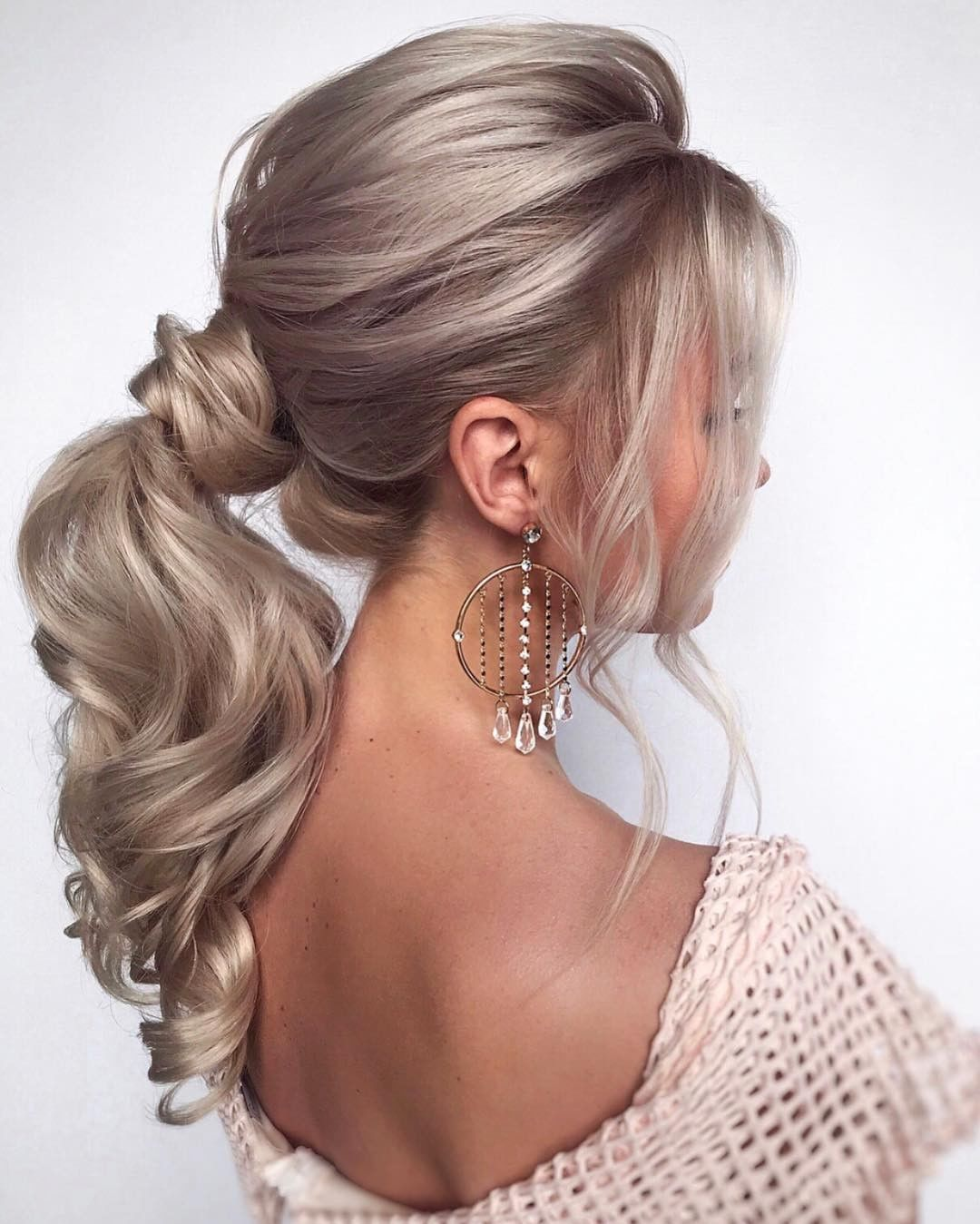Paloma Blanca On Instagram Do You Like This Wedding Hairstyle Idea Double Tap If You Do Ha In 2020 Long Hair Styles Hair Styles Elegant Ponytail