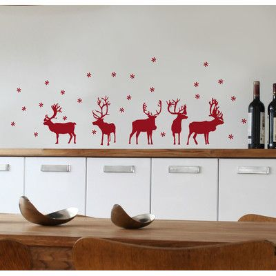 ADZif Mia & Co Reindeers Wall Decal