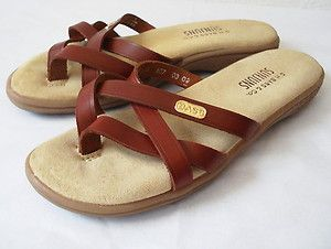 Leather Thong G 6m Bass 'sunjuns' Shoe H Sz Burgundy Sandal sQdBhrCtx