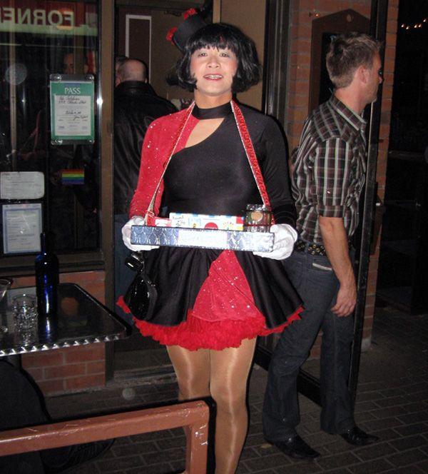 Halloween transvestite