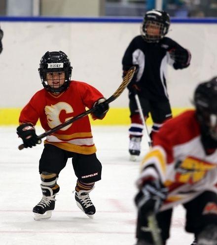 Future Calgary Flames Hockey Player Youth Hockey Hockey Hockey Goalie