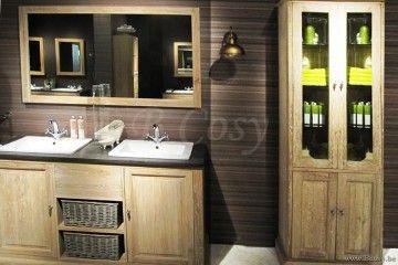 Badkamer Gootsteen Kast : Lee lewis bath kast met opening eik white wash landelijke