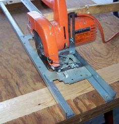 DIY Guide Rails for your Circular Saw