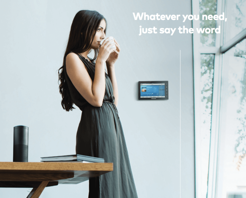 Simply Ask Amazon Alexa And Let Your Crestron System Do The Rest Voice Control Technology Lets You Set The Scene Lights T Amazon Alexa Home Automation Alexa