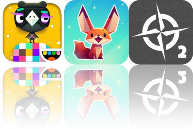 Today's Apps Gone Free Toca Blocks, The Little Fox and