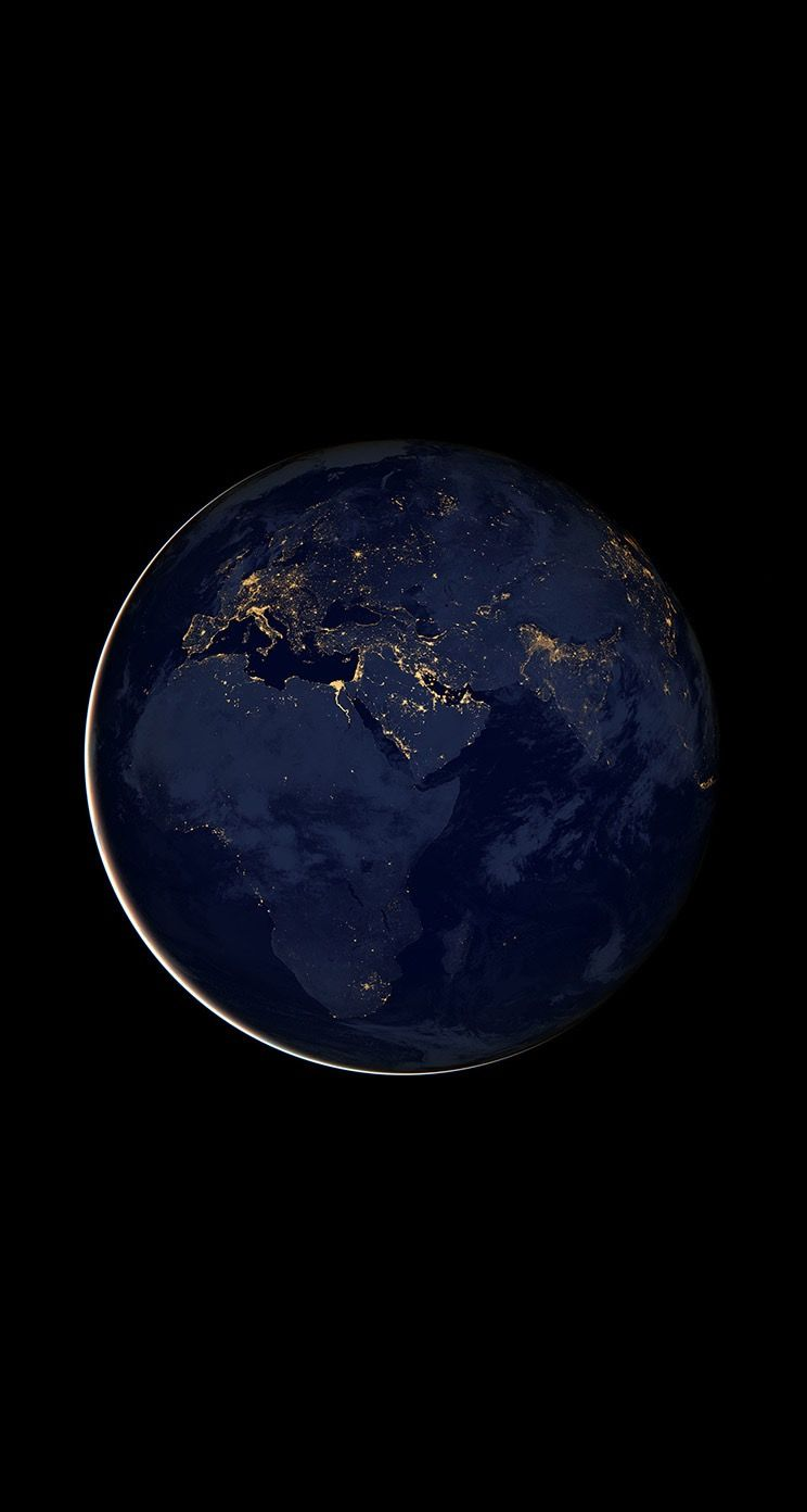 Earth Wallpaper Background Iphone Hd Earth From Space Earth At Night Space Photography