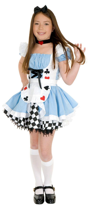 14016f3e8e1a Fairy Tale Alice in Wonderland Kids Costume Alice in Wonderland Costumes -  Mr. Costumes