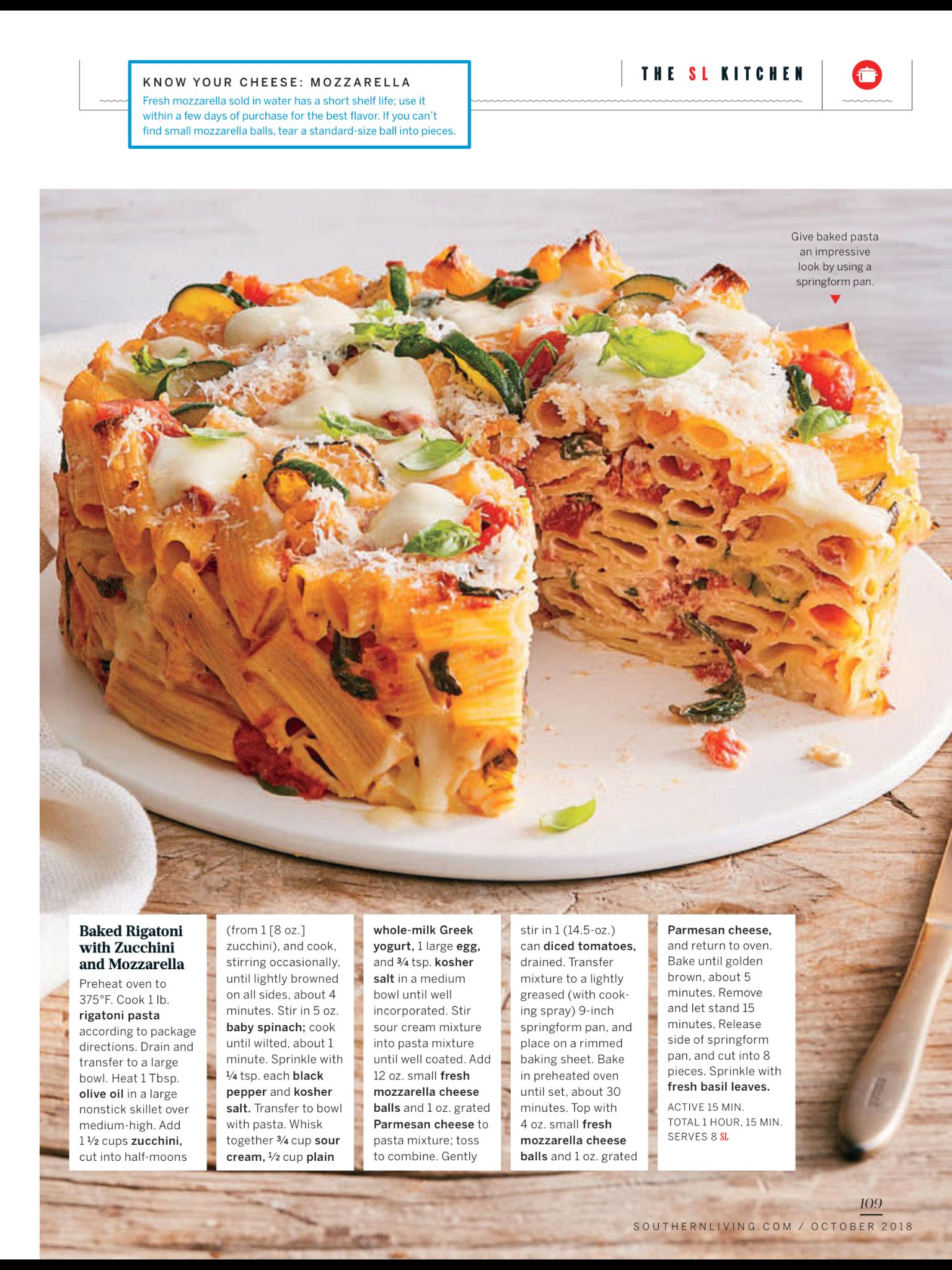 More Cheese Please From Southern Living October 2018 Read It On