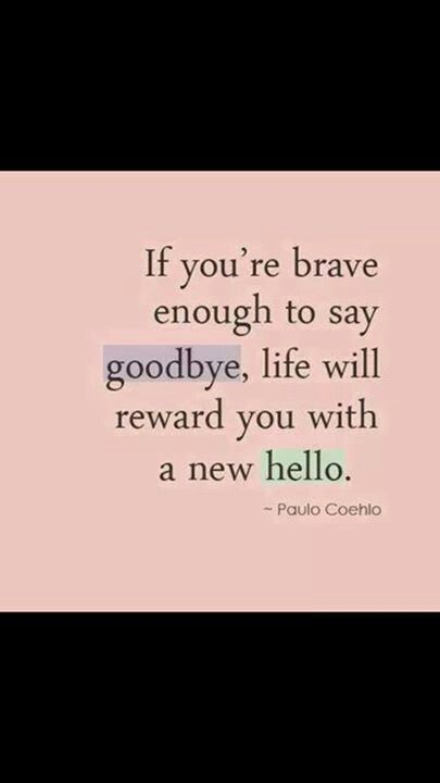 My New Hello Says Hi To My Goodbye Small World
