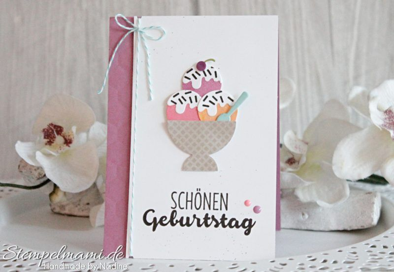 Stampin Up - Geburtstagskarte - Birthday Card - Grusskarte - Karte ...