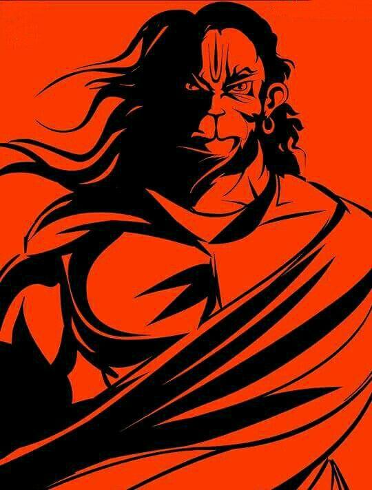 Angry hanuman images download hd
