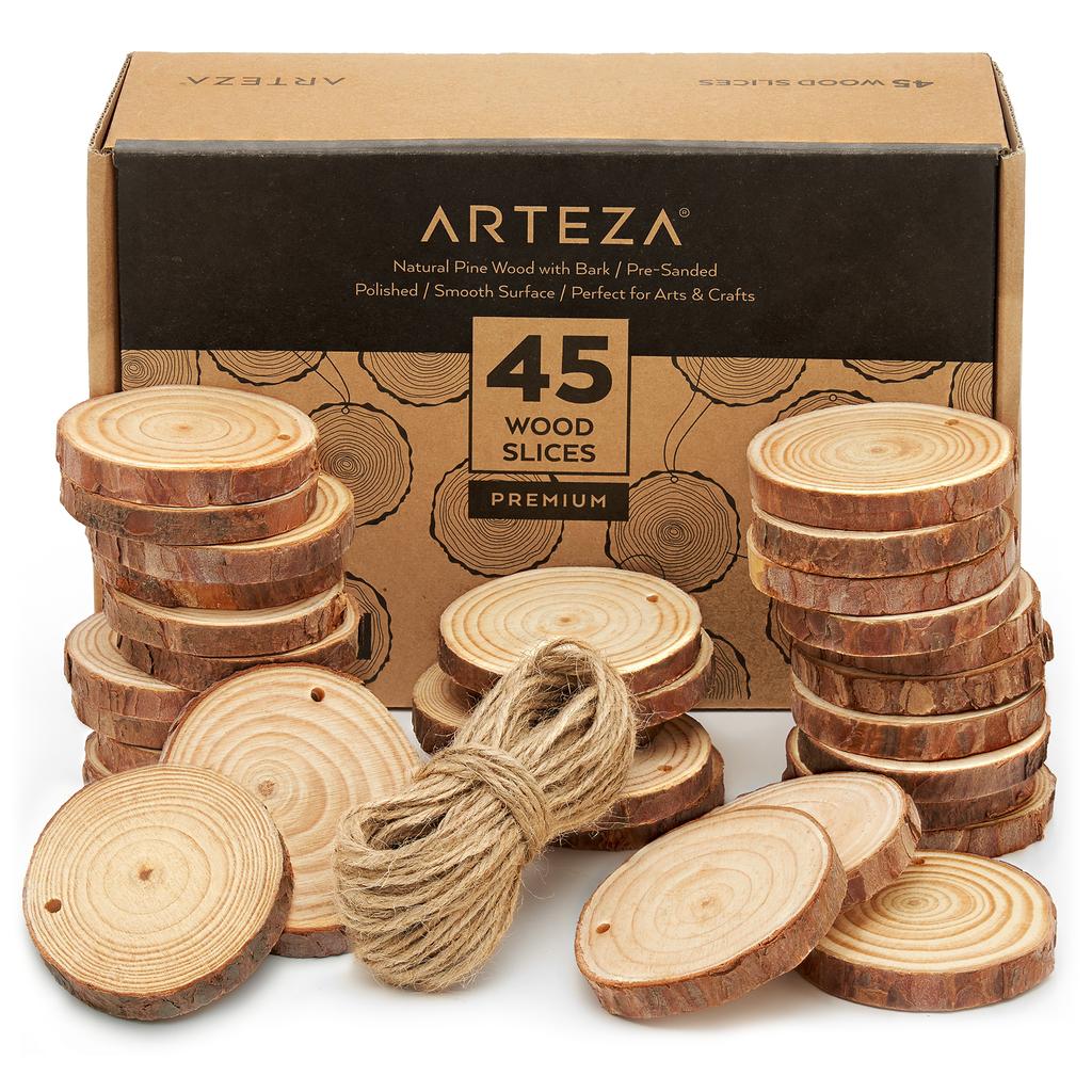 38+ Small wood slice crafts info