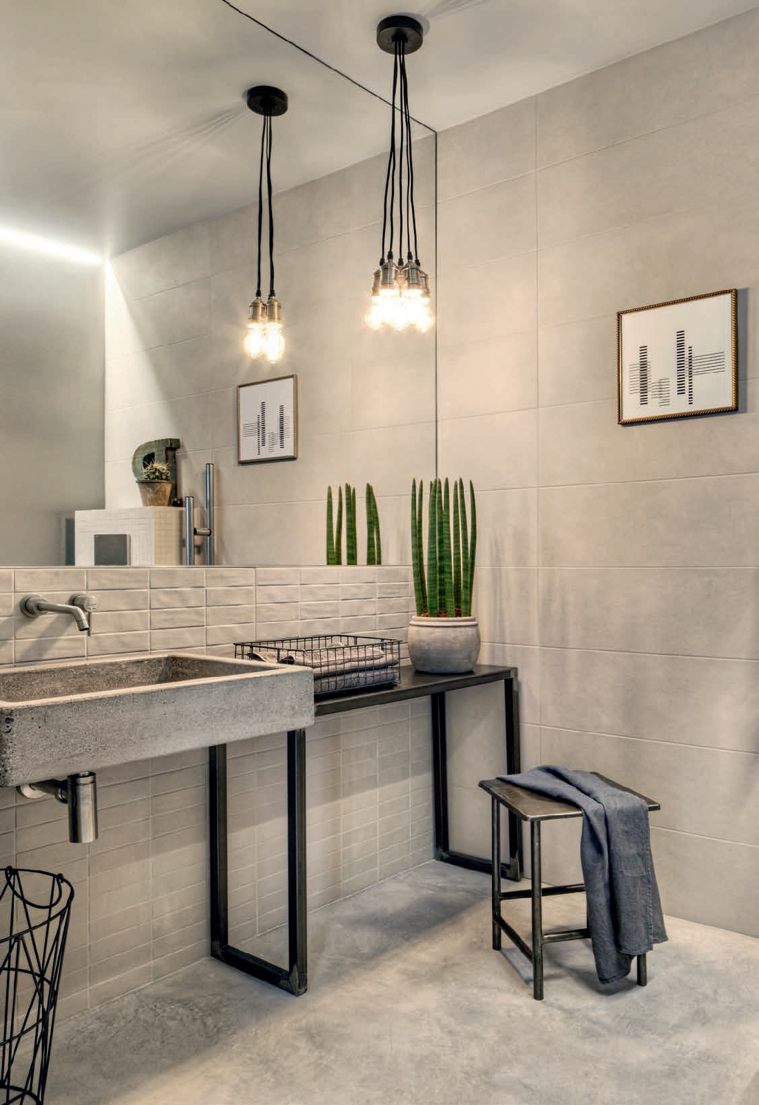 #Marazzi #Chalk Sand 25x76 cm M02E   #Porcelain stoneware #Stone #25x76   on #bathroom39.com at 31 Euro/sqm   #tiles #ceramic #floor #bathroom #kitchen #outdoor