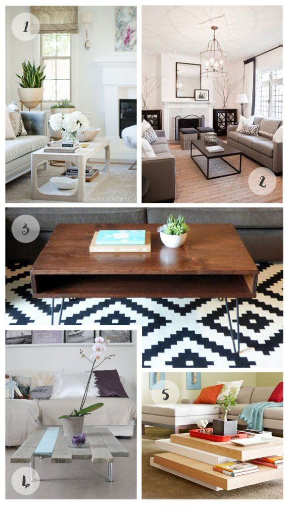 Coffee Table Inspiration (With images) | Living room plan ... on Coffee Table Inspiration  id=36615