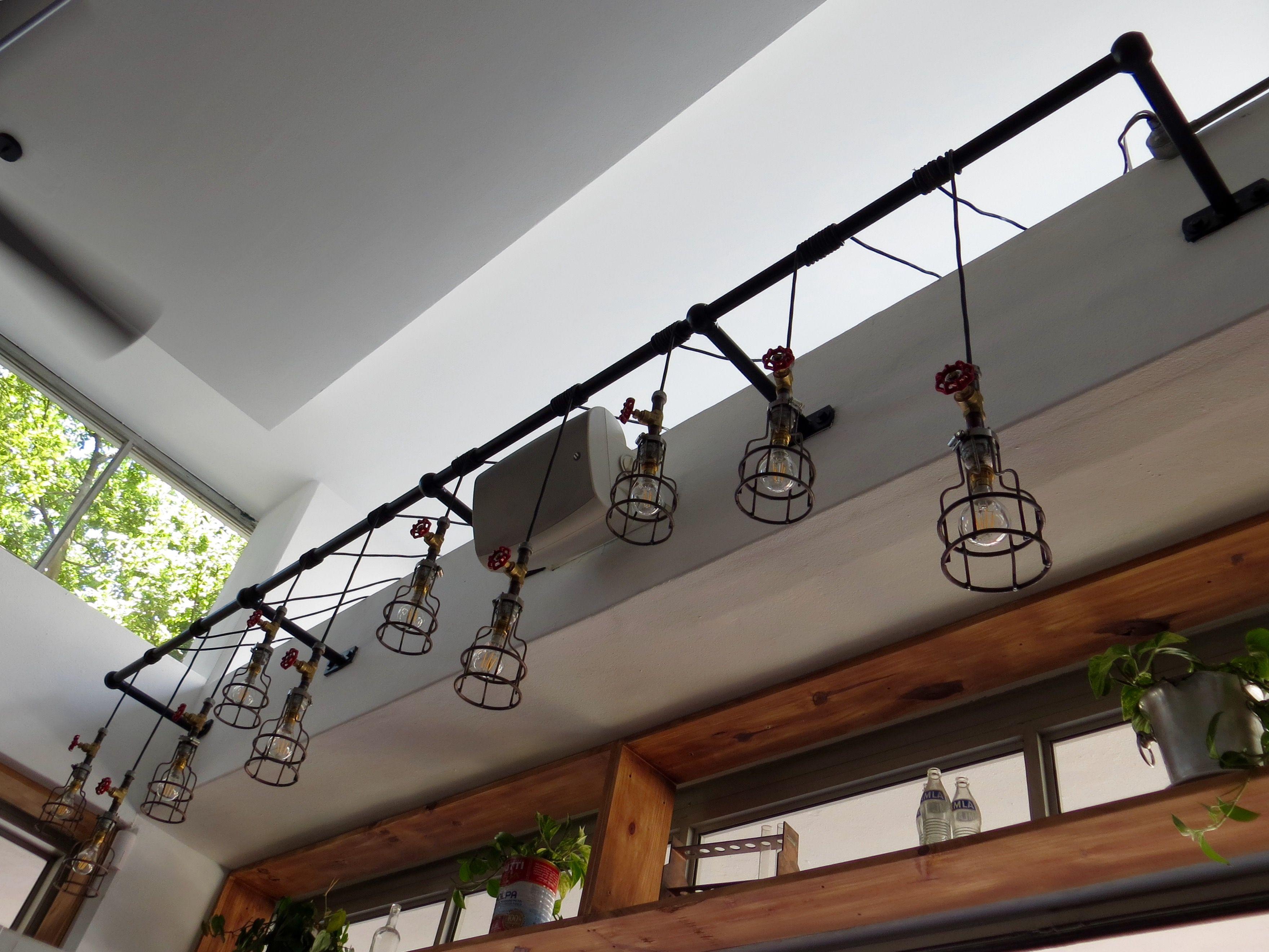 metro lighting custom made light rail constructed from steel using ...