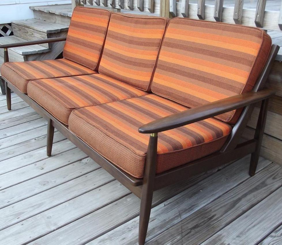 Danish Sofa Mid Century Modern Lounge Chairs Chair And