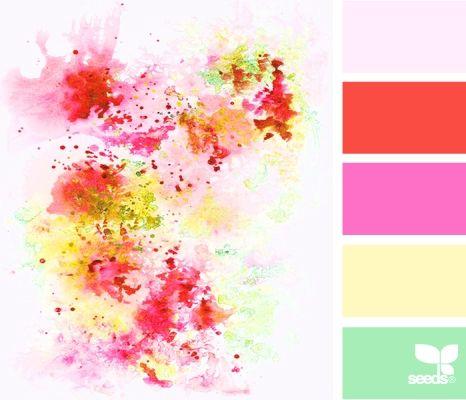 Pretty colours / Petitevanou  Color Palette by Design Seeds