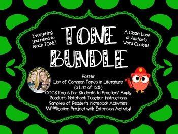 tone bundle education author 39 s tone tone in. Black Bedroom Furniture Sets. Home Design Ideas
