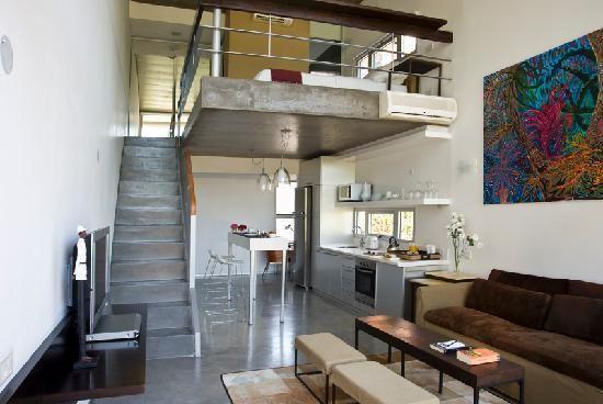 Mezzanine Living Room Modern