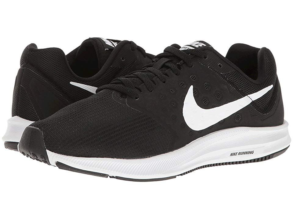 brillo encantador ropa deportiva de alto rendimiento original de costura caliente Nike Downshifter 7 (Black/White/Anthracite) Women's Running Shoes ...