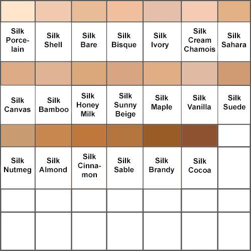Clinique Foundation Color Chart