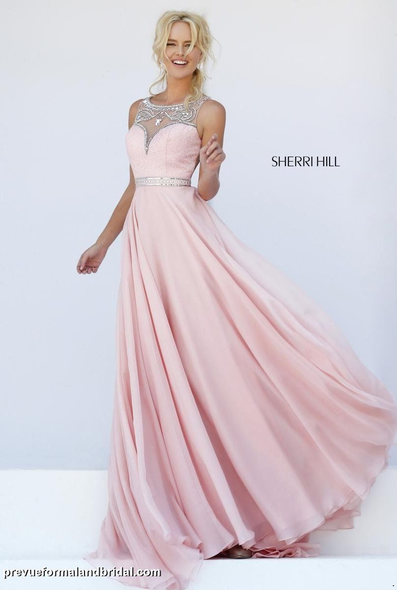 Sherri Hill - 11320 Spring 2016 line. Light pink prom dress. Pink ...