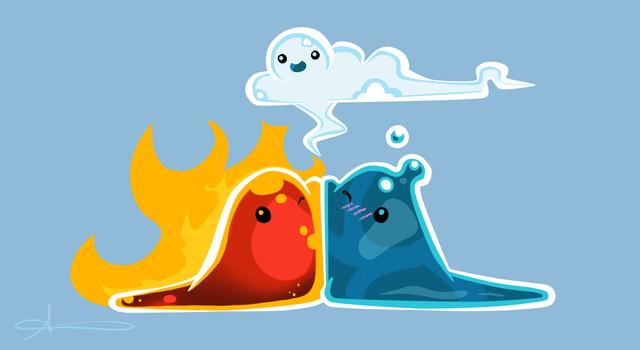 Fire Puddle Slime Fanart 3 Slimerancher Slime Rancher Cute Screen Savers Cute Pokemon Wallpaper