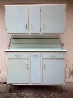 Buffet formica, vert d\'eau, années 60 | Cuisine | Pinterest ...
