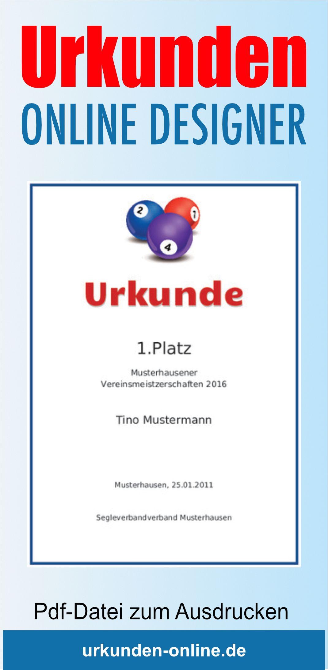 Ansprechende Billardurkunde Online Gestalten Und Drucken Urkunde Billard Gestalten