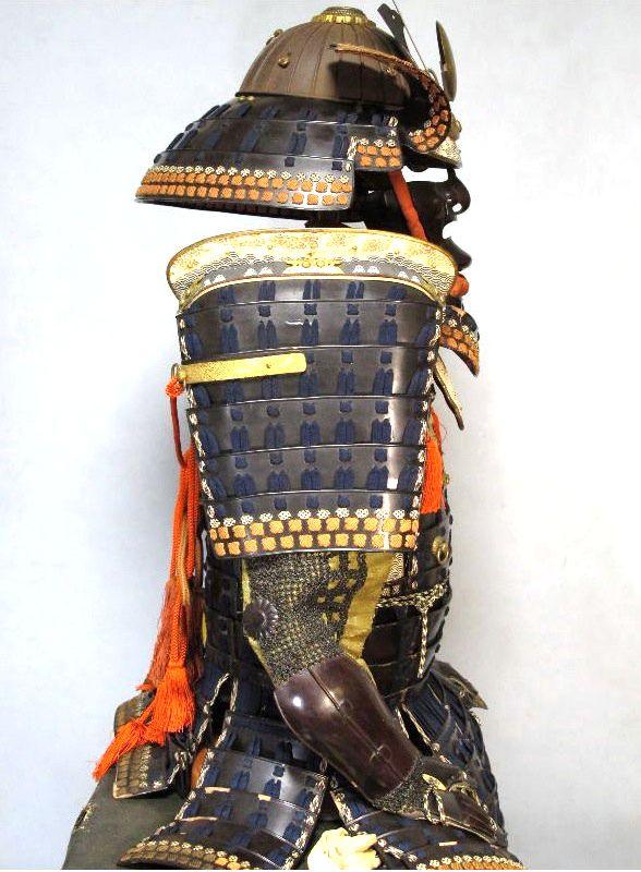 Mogami domaru gusoku armor, mid Edo. At the Espace4 Gallery